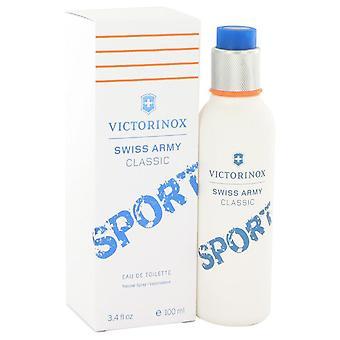 Swiss Army Classic Sport Eau De Toilette Spray By Victorinox 3.4 oz Eau De Toilette Spray