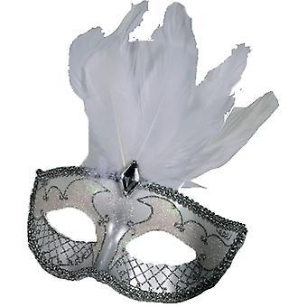 Masque de carnaval Accent Wt/Sv pour Masquerade