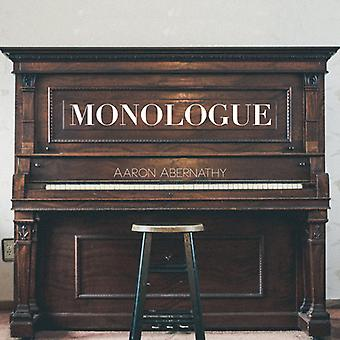Aaron Abernathy - Monologue [CD] USA import