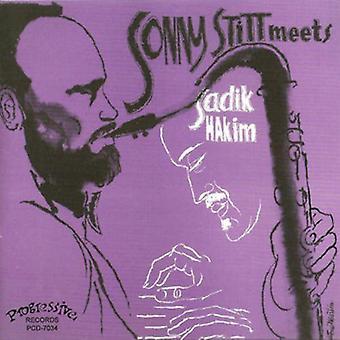 Stitt, Sonny Meets Sadik Hakim - Sonny Stitt Meets Sadik Hakim [CD] USA import