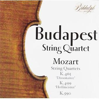 W.a. Mozart - Mozart: String Quartets Nos. K. 465 , K. 499 & K. 590 [CD] USA import