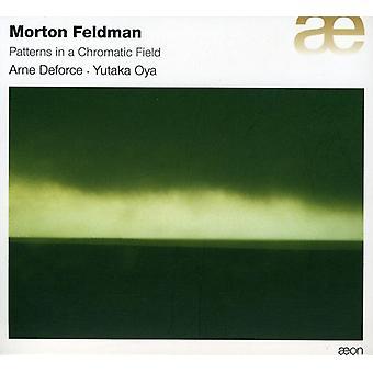 M. Feldman - Morton Feldman: Mønstre i en kromatisk felt [CD] USA import