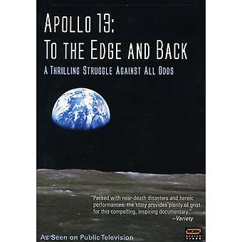 Apollo 13-to the Edge & Back [DVD] USA import