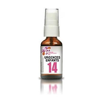 Bach flowers - complex n ° 14 children's emergencies 20 ml of floral water