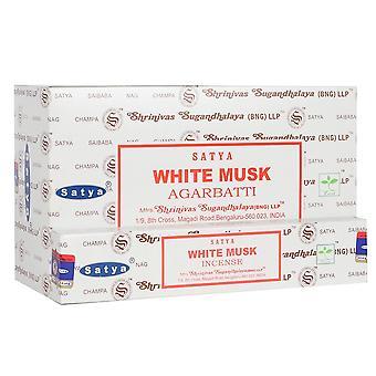 Something Different Satya White Musk Incense Sticks (12 Packs)