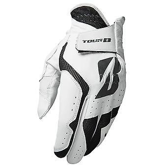 Bridgestone Mens Tour B Fit Left Hand Soft Cabretta Leather Golf Glove