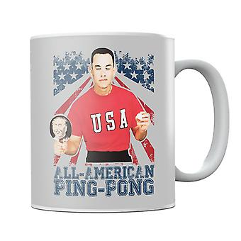 Forrest Gump All American Ping Pong Mug