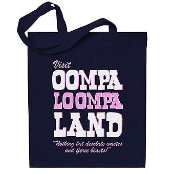 Charlie And The Chocolate Factory Oompa Loompa Land Totebag