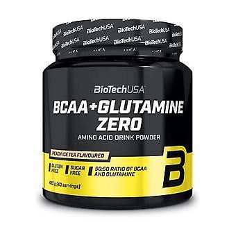 BCAA + Glutamiini Nolla, Persikkajäätee 480 g