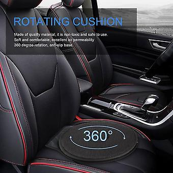 360 Degree Rotation Cushion Car Mats - Chair For Elderly Pregnant Woman Foaming Auxiliary Car Seat