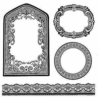 Natural Rubber Stamp Frames & Borders (WTKCC156)