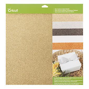 Cricut Cricut Cardstock Glitter Cardstock Classics Sampler
