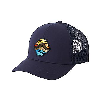 Billabong Walled Adventure Division Trucker Cap in Navy