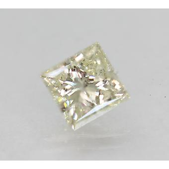 Certificado 1.05 Quilates J SI1 Princesa Mejorada Diamante Suelto Natural 5.74x5.63mm