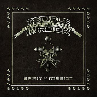 Schenker, Michael / Temple of Rock - Spirit on a Mission [CD] USA import