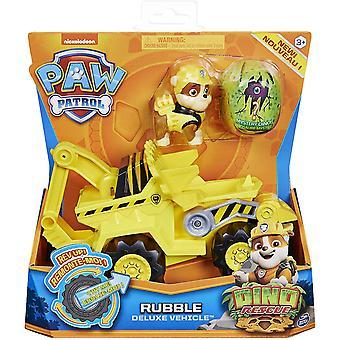 Paw Patrol Rubble Dino Rescue Deluxe Fahrzeug