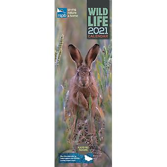 RSPB British Wildlife Slim Calendar 2021