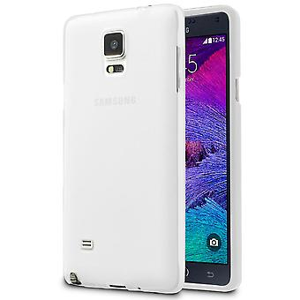 Soft Thin Mobile Protection pour Samsung Galaxy Note 4 Mobile Cover Shell Silicone léger