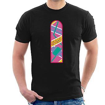 Takaisin tulevaisuuteen Hoverboard Classic Design Men's T-paita