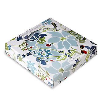 Julie Dodsworth Lavender Garden Coaster Set