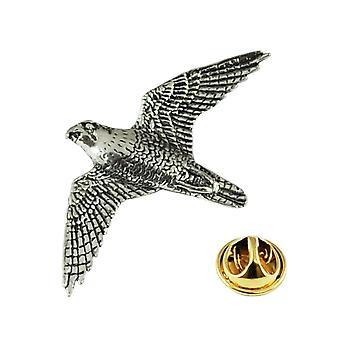 Krawatten Planet Peregrine Falcon Englisch Zinn Anstecknadel Abzeichen
