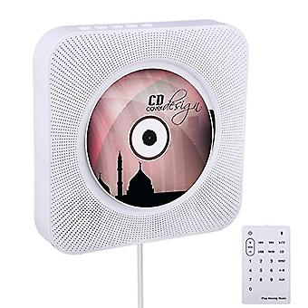 Wall Mountable Bluetooth Remote Control Cd Player, Hifi Speaker