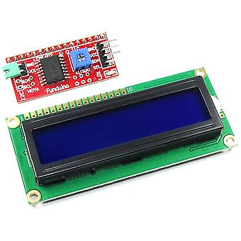 16x2 Blue LCD with Funduino I2C Interface