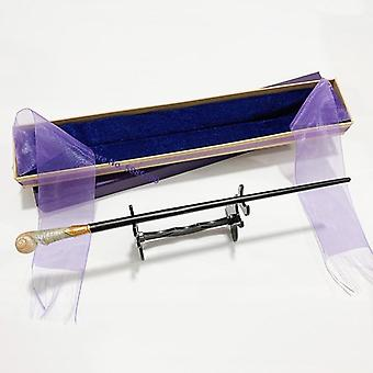 Metal Core Bellatrix Dumbledore Elder Wand Hp Magic Wand Box With Stand