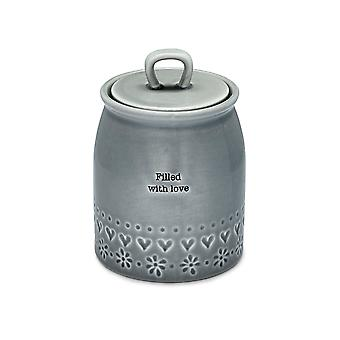 Cook Smart Cannister Filled With Love Purity 1888