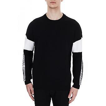 ARMANI EXCHANGE Cotton Black/white Knitwear Jumper