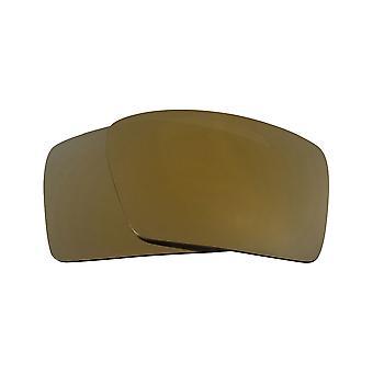 عدسات بديلة لـ Oakley Eyepatch 1 نظارات شمسية مضادة للخدش من الذهب مرآة