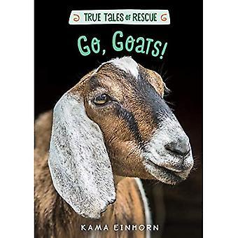 Idź, Kozy! - Prawdziwe opowieści o ratowaniu