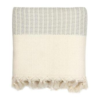 Plush Wavy Turkish Throw Blankets