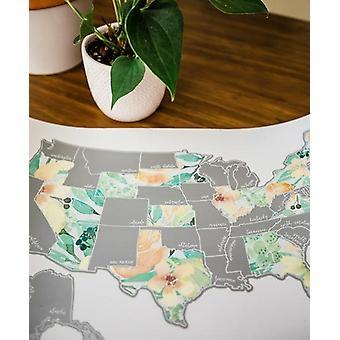 Peachy Botanicals Yhdysvallat Kartta
