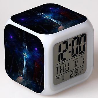 צבעוני רב תכליתי LED ילדים & apos;שעון מעורר -TRANSFORMADORES: O ÚLTIMO C