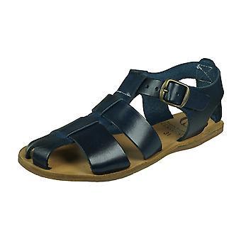 Angela Brown Archie Flickor Läder Sandaler - Marinblå