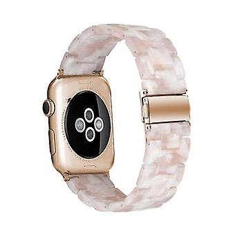 Resin Watch Strap For Apple Watch Band Transparent Steel