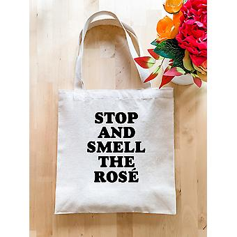 Stop And Smell The Rose Tote Bag