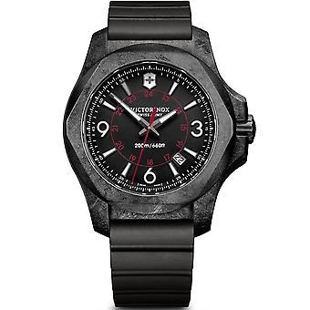 Victorinox Swiss Army 241777 I.n.o.x. Carbon Black Rubber Men's Watch