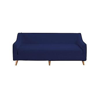 3 Seater Couch Stretch Sofa Lounge Cover Protector Navy