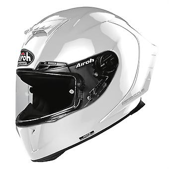 Airoh GP550S Color Full Face Motorcycle Helmet Hi-Vis Reflective White