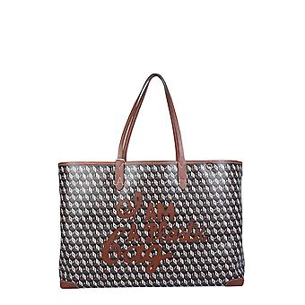 Anya Hindmarch 153690 Women's Brown Plastic Tote