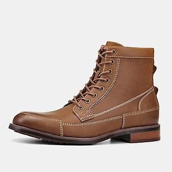 High-quality Comfortable Leather Ankle Winter Boots