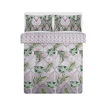 Bambury Printed Quilt Cover Set Trellis Queen