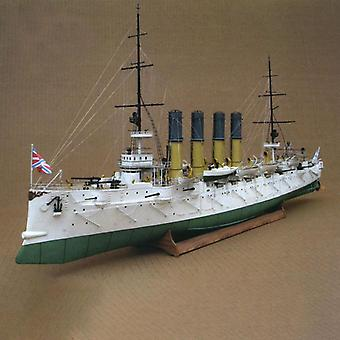 Protective Cruiser Diy 3d Paper Card Model Building Sets - Construction