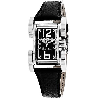 Locman Men's Latin Lover Black Dial Watch - 502BK/BK