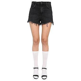 Alexander Wang 4d994038ad015 Pantaloncini di cotone grigio da donna