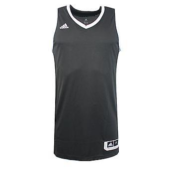 Adidas Temel Kit 3.0 Siyah Beyaz Polyester Erkek Kolsuz Jersey AI4667 RW9