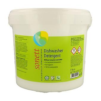 Machine dishwasher powder 3 kg of powder