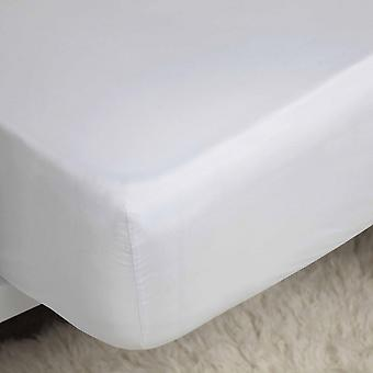Belledorm 100% Cotton Sateen Fitted Sheet